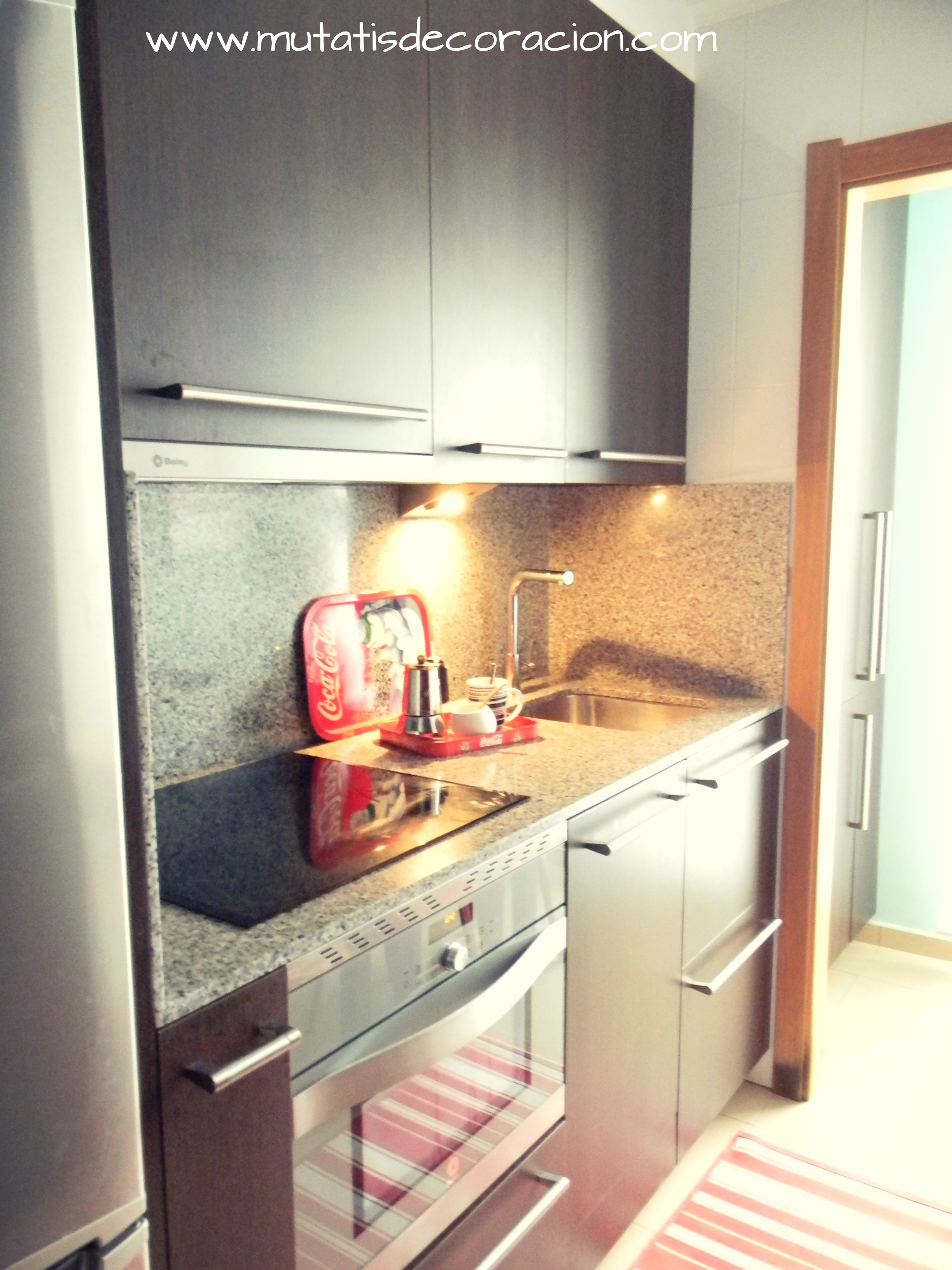 Mini cocina de 8 metros cuadrados for Donde estudiar cocina